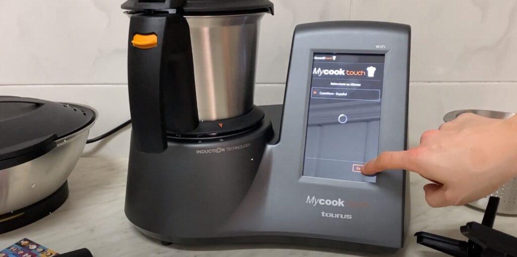 Configuración Mycook Touch